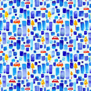 Watercolor_City_spoonflower