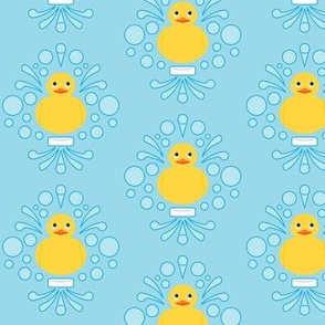 Damask Rubber Duck #1