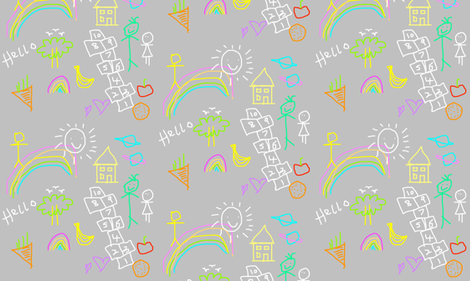 hopscotch fabric by tattooed_mammy on Spoonflower - custom fabric