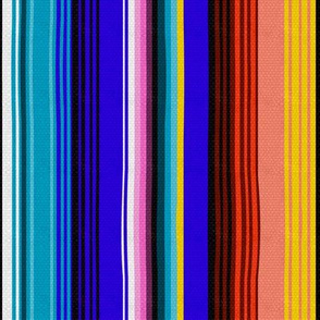Mexican Stripes (Vertical)