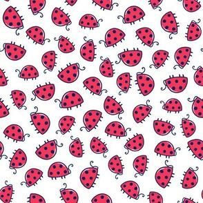 Ladybugs Everywhere Doodle