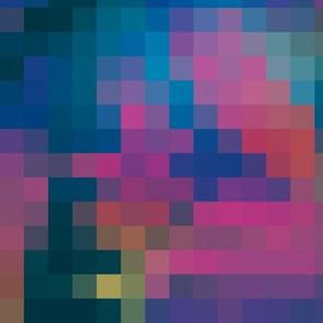 Rainbow Leaves Pixels