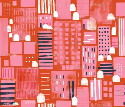 City Life by Friztin