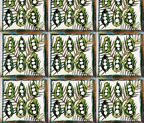 peapod fabric by frances_hollidayalford on Spoonflower - custom fabric
