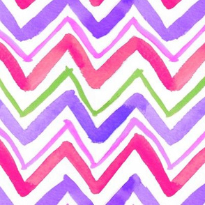 Zig Zag Horizontal Stripe