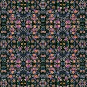 Impressionist Flower Garden