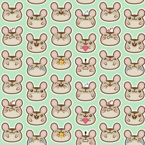 emoji mice small green