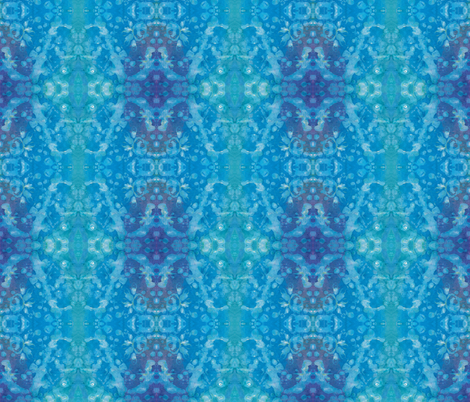 harmony in blue fabric by bodabe on Spoonflower - custom fabric