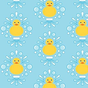 Damask Rubber Duck #2