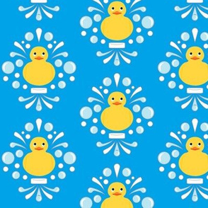 Damask Rubber Duck #3
