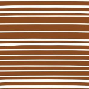 Wonky Stripes (sienna)