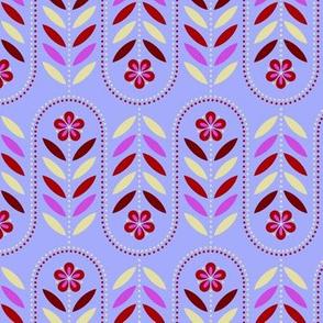 Carnival Flower Wave - Periwinkle B