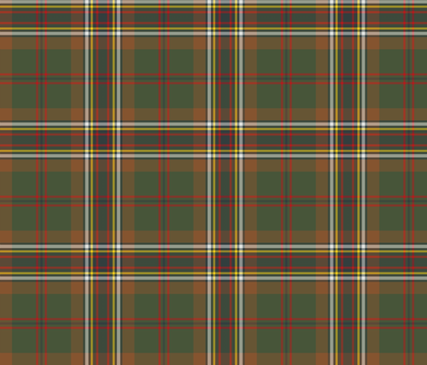 "Tara / Murphy tartan, 6"" weathered fabric by weavingmajor on Spoonflower - custom fabric"
