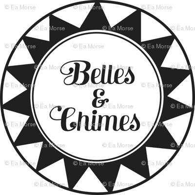Belles & Chimes Black & White