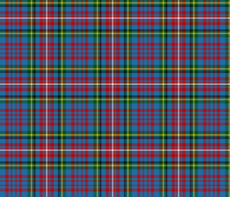 Hyndman tartan #1 fabric by weavingmajor on Spoonflower - custom fabric