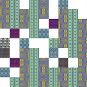 Fragments Cheater Quilt