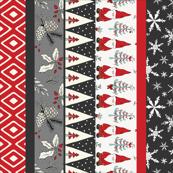 Santa Gnomes -  Ice, Red, Black NF