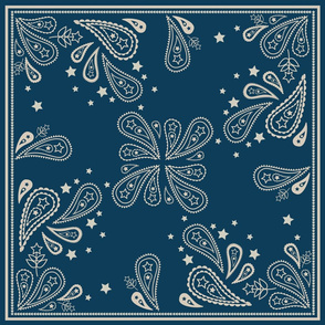 Stars N Stripes Bandana BLUE