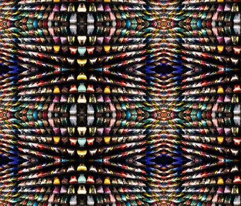 biarritz shoe store fabric by hypersphere on Spoonflower - custom fabric