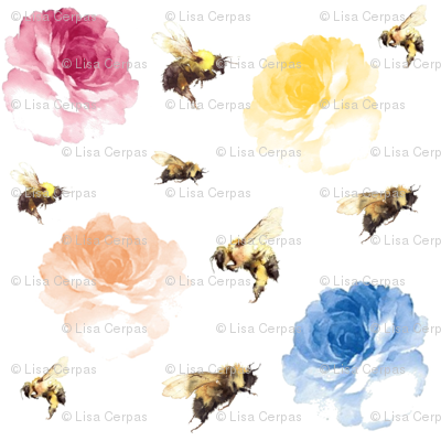 Whimsical_bee_and_flowers_preview