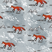 Little Foxes Grey