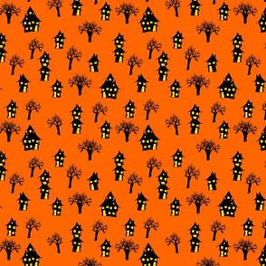 haunted town orange