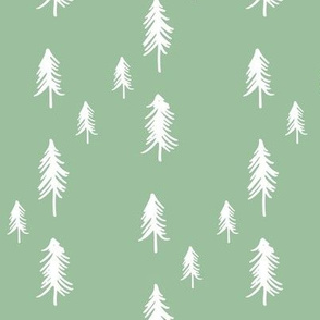 Pine tree (lots) - minty