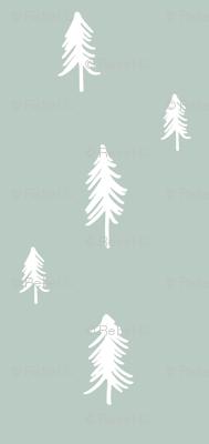 Pine Tree (sparce) - blue