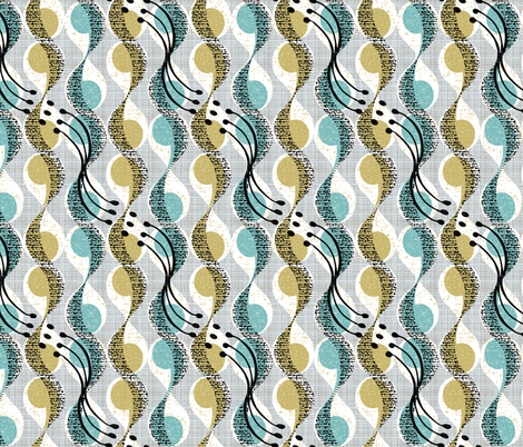 betty-mcm -retro fabric by ottomanbrim on Spoonflower - custom fabric