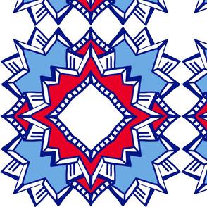 Deco Burst - Patriotic Flair