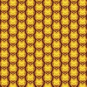 Dragon Scales- golden yellow