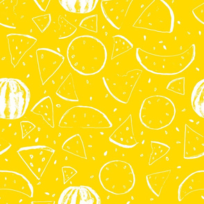 Cheerful Melon Yellow