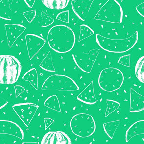 Cheerful Melon Green