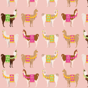 Llama Party - Desert Dusk