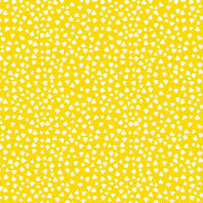 Fun Yellow  Triangles
