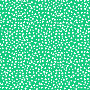 Fun Green  Triangles