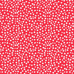 Fun Red  Triangles