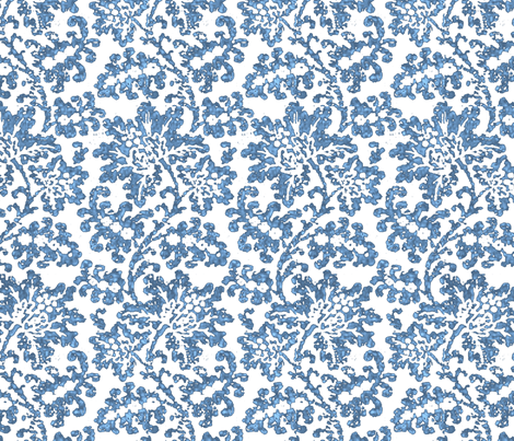 Batik Lace White fabric by amyvail on Spoonflower - custom fabric