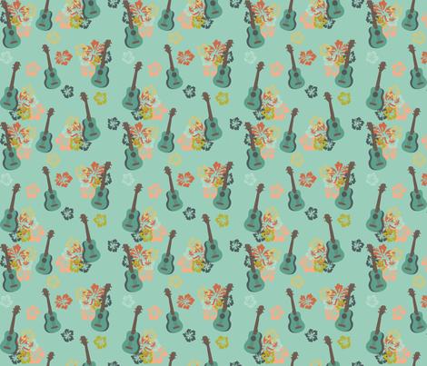 Tiki 6 fabric by digitallove on Spoonflower - custom fabric