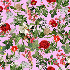 Seamless Botanical Pattern V3