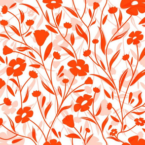 Flax Flower Red