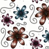sketch-flower