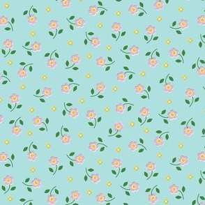 Wild Flowers* (Polymer) || flower floral nature garden leaves spring wildflowers ditsy pastel