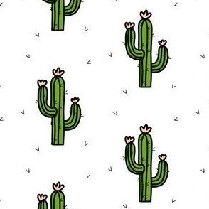 Cactus flower print