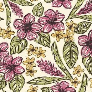Vintage Hawaiian Flowers