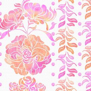 Floral-Columns_White
