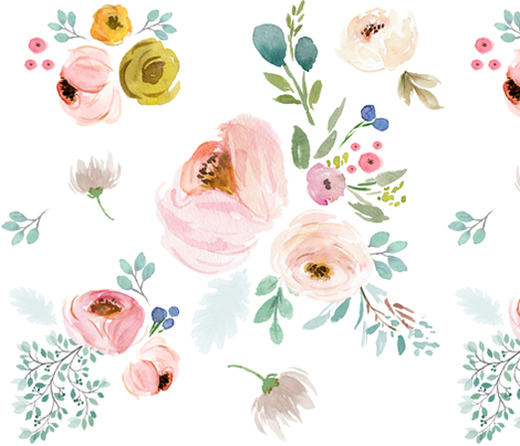 """18"""" April Love / NO DANDELIONS / Less Space fabric by shopcabin on Spoonflower - custom fabric"""