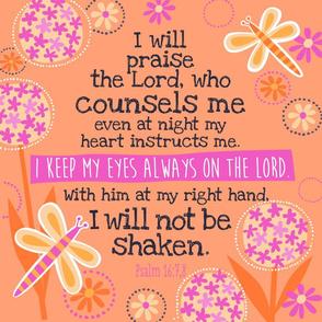 Bright Psalm 16:7&8