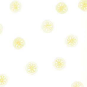 Citrus: Lemon Tea Towel