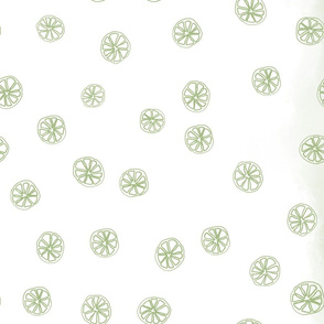 Citrus: Lime Tea Towel